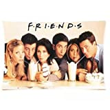 Friends Tv Show Tv Actor Print Pillow Case Protector Rectangle Pillow Case Cover Two sides 20
