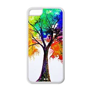 meilz aiaiTPU Case Cover for iphone 4/4s Strong Protect Case Cute Love Christmas Tree A Tree With 2 Color Case Perfect as Christmas gift(4)meilz aiai