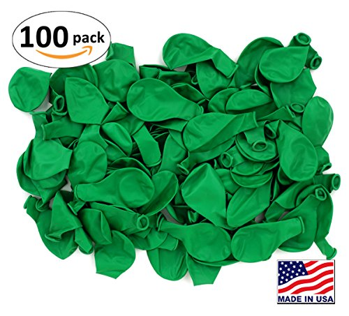 Pack of 100, Bright Green Color 5
