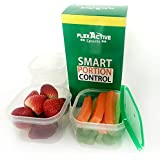 Portion Control Containers (5pcs) Meal Prep and Food Storage System for Diet and Nutrition - by Flex Active Sports