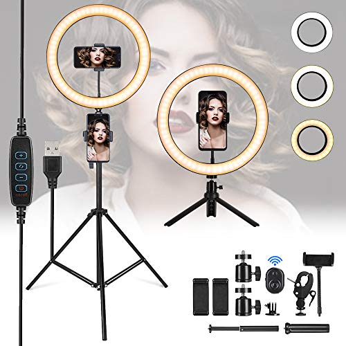 GreenSun LED Ring Light,12 inch Ring Light with Tripod Stand (3.15
