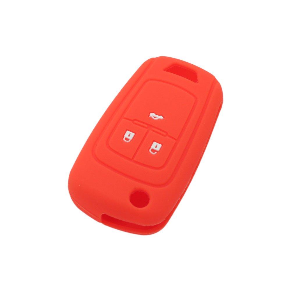 Con 3 botones para Opel modelo CV4621. Funda de silicona Fassport para llave a distancia
