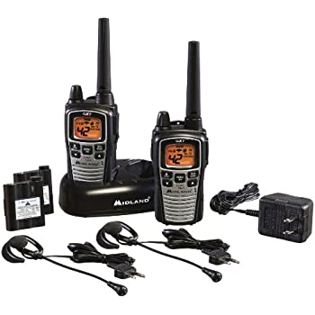 Midland GXT860VP4 42-Channel GMRS with NOAA Weather Alert and 36-Mile Range
