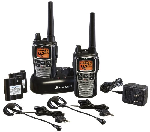 Midland GXT860VP4 42-Channel GMRS with NOAA Weather Alert and 36-Mile Range, Outdoor Stuffs