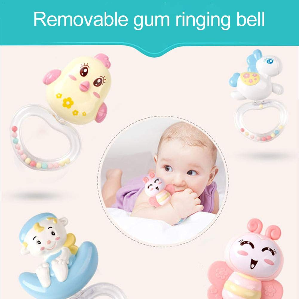 Remote Control Rotating Musical Crib with Projector Hanging Rattles with Cot Mobile Arm for Newborn Baby Musical Crib Mobile Bed Bell Toys