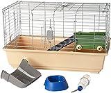 Amazon Basics Small Animal Cage Habitat With