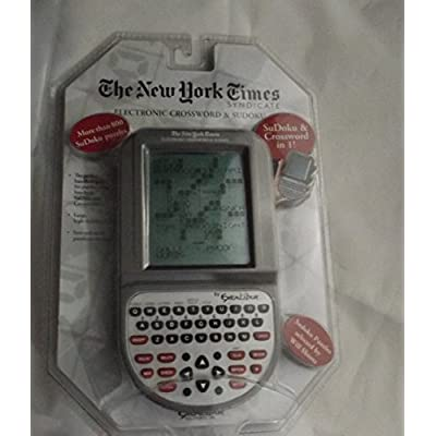 Excalibur Electronic 2 in 1 Crossword and Sudoku: Toys & Games