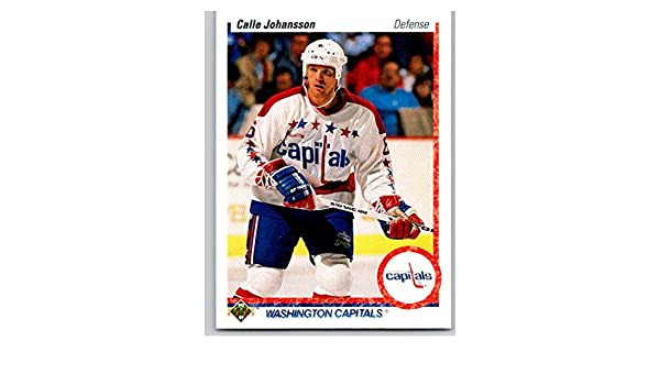 Amazon.com  Hockey NHL 1990-91 Upper Deck  149 Calle Johansson  149 NM  Capitals  Collectibles   Fine Art 22d663efcedb