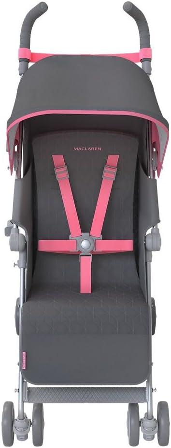 Maclaren Quest - Silla de paseo, Multicolor (Charcoal/Primrose ...