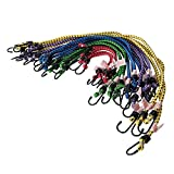 Silverline 759497 Assorted Bungee Cords 20-Piece Set