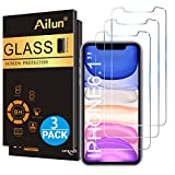 Wireless : Ailun Glass Screen Protector for iPhone 11/iPhone XR 6.1 Inch 3 Pack Tempered Glass Screen Protector for Apple iPhone 11/iPhone XR 6.1 Inch Display Anti Scratch Advanced HD Clarity Work Most Case