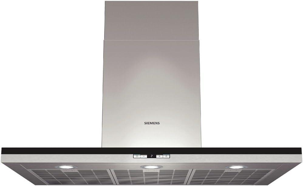 Siemens LC98BD540 - Campana (Metal, 3 piezas, 900 mm, 600 mm, 628 mm, Halógeno) Acero inoxidable: Amazon.es: Hogar