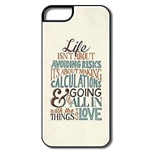 Alice7 Life About Making Calculations Case For Iphone 5,Fashion Iphone 5 Case
