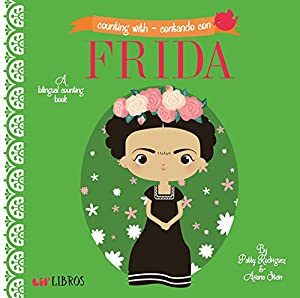 Counting With -Contando Con Frida (English and Spanish Edition) by Lil' Libros