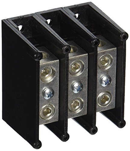 mersen-63000-aluminum-open-style-mini-box-to-box-power-distribution-block-with-3-pole-and-1-stud-2-0
