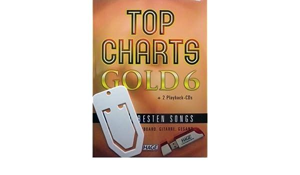 Top Charts Gold 6 Con 2 reproducción-CD y USB con 40 MIDI files ...