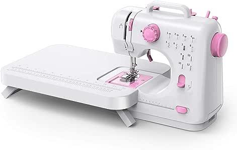 L.P Mini máquina de Coser, Mesa actualizada portátil Dos Hilos ...