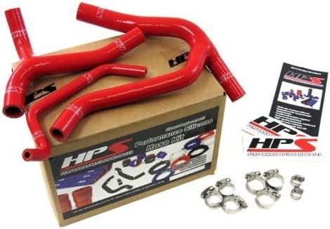 HPS Silicone Radiator Hose Kit for Kawasaki KX450F 57-1244-RED