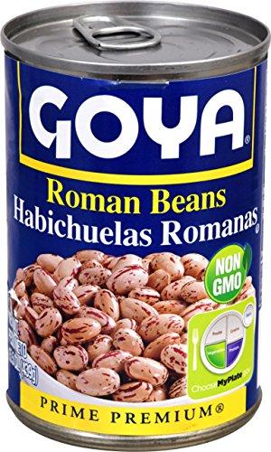 Goya Foods Roman Beans, 15.5 oz