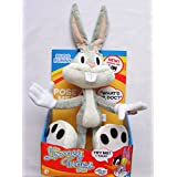 The Looney Tunes Show Plush Posable Talking Bugs Bunny