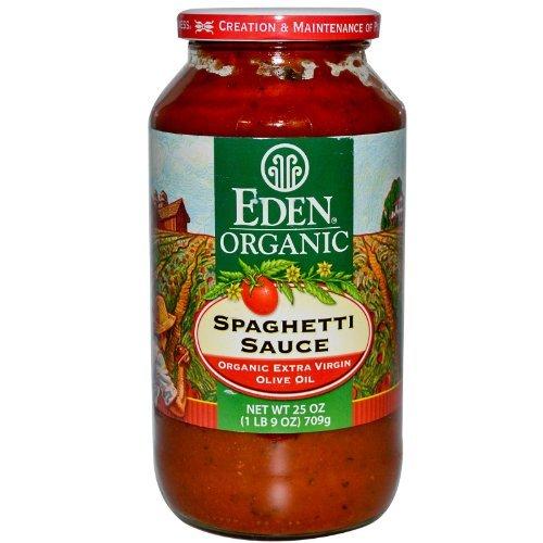 Eden Foods Organic Spaghetti Sauce -- 25 oz by Eden - Eden Organic Spaghetti Sauce