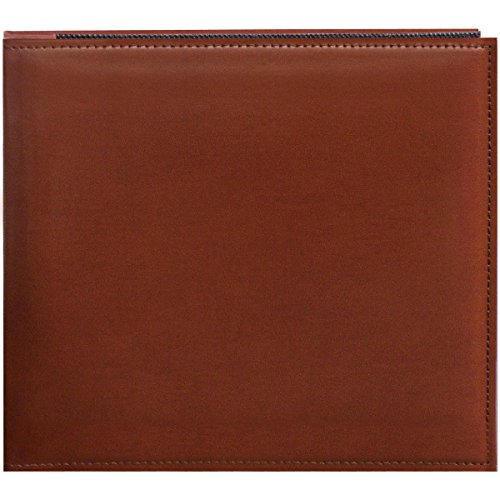 Pioneer 8 Inch by 8 Inch Snapload Sewn Leatherette Memory Book, ()