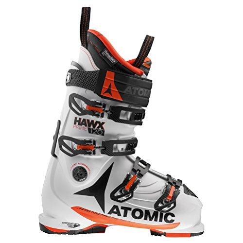 Atomic Hawx Prime 120 Ski Boot White/Orange, (Atomic Alpine Ski Boots)
