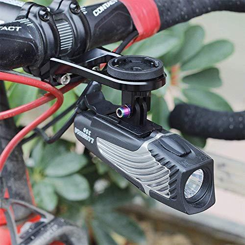 Tuson - Adaptador de luz para Niterider Lumina, Adaptador GoPro ...
