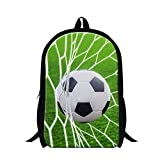 Best GENERIC City Backpacks - Generic Childrens Traveling Backpack Football Print Bookbags Review
