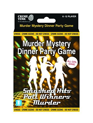 The Smashed Hits Poll Winners Murder (All girl) - Murder mystery gift box - downloadable game for 6,8,10 or 12 (80s Fancy Dress Characters)