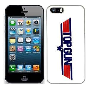 Topgun Film cas adapte iphone 5S couverture coque rigide de protection (6) case pour la apple i phone 5 S cover Skin Tom cruise