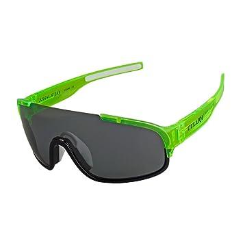 ed9c3e600b7d3 XUNQI Hombre Y Mujer Gafas De Sol Polarizadas Deportes Al Aire Libre Lentes  Reemplazables Nariz De