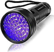 Vansky® 51 LEDs Blacklight Flashlight Pets Ultra Violet Urine and Stain Detector,Find Dry Stains on Carpets, R
