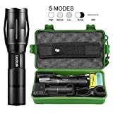 Best Bicycle Lights 5000 Lumens Rechargeables - Led Super Bright Flashlight, Ledeak 1200 High Lumens Review