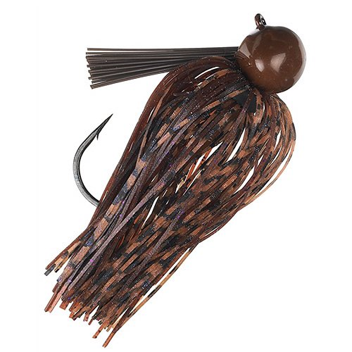 Strike King Lures TDJ38-51 Tour Grade Football Jig, 3/8 oz, Peanut Butter & Jelly.Per 1 ()