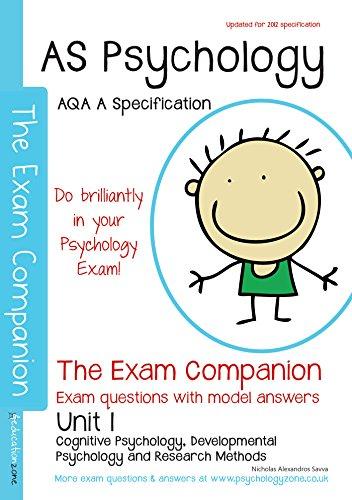 AQA (A) AS Psychology Unit 1 : The Exam Companion