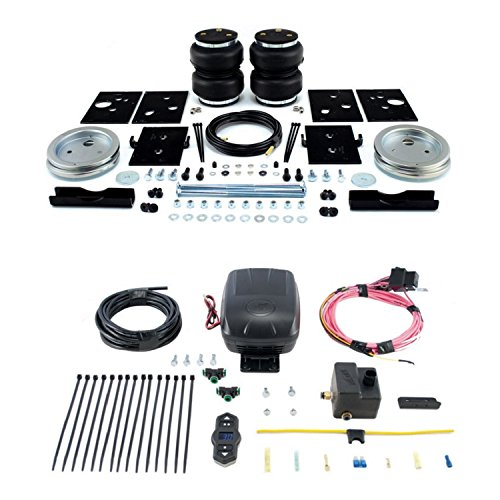 Air Lift 57289/25870 Rear Set of Load Lifter 5000 Series Air Springs w/Wireless One Single Path On-Board Air Compressor System Bundle for Dodge Ram 2500