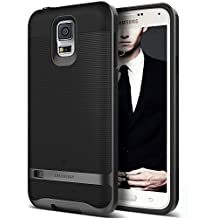 Galaxy S5 Case, Caseology® [Wavelength Series] Textured Pattern Grip Cover [Black] [Shock Proof] for Samsung Galaxy S5 - Black