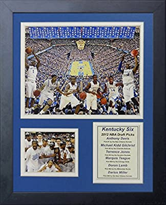 "2012 Kentucky Wildcats - Draft Picks Collage 11"" X 14"" Framed Photo Collage By Legends Never Die, Inc."