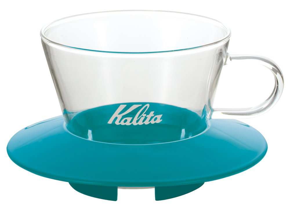 Kalita Wave Dripper 185 series glass [2-4 persons] Mango Yellow # 05067 (japan import) #05067