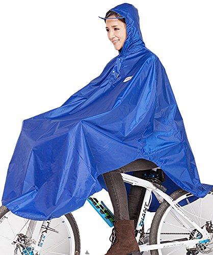 SiYang Women Men Big Cycling Bicycle Bike Raincoat Rain Cape M801 (mazarine,X...