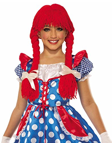 Deluxe Rag Doll Wig Costume Accessory