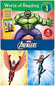 World of Reading Avengers Boxed Set: Level 1 - Purchase Includes Marvel eBook!: 2