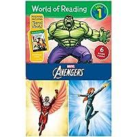 World of Reading Avengers Boxed Set: Level 1