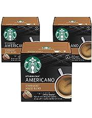 كبسولات قهوة ستاربكس هاوس بليند من نيسكافيه دولتشي جاستو، تحميص متوسط (3 × 12 كبسولة)