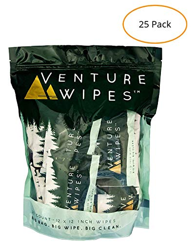 Venture Wipes Individually Ingredients Biodegradable product image