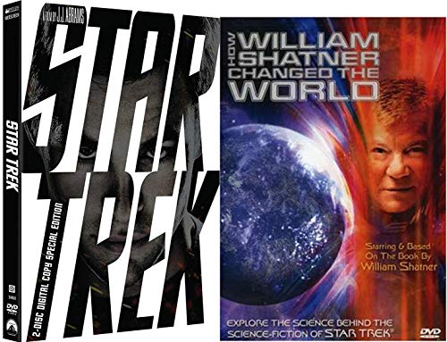 Change the World Star Trek Fandom Collection - Star Trek Special Edition Movie (2009) & How William Shatner Changed the World Explore the Science DVD Bundle