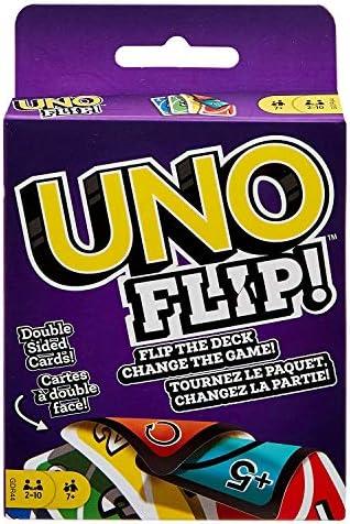 Mattel Uno Original y Uno Flip Card Games, Combo Pack de 2