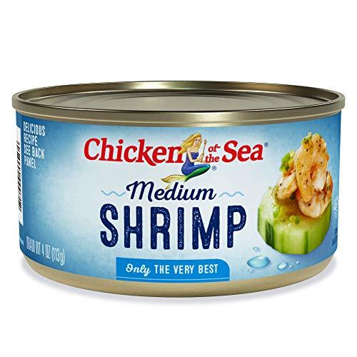 Chicken of The Sea Shrimp, Medium, 4 Ounce (Shrimp)