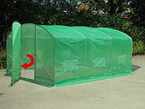 Invernaderos «Extreme» de 4 m x 3, 5 m, 6 m x 3, 5 m o 8 m x 3, 5 m. De laterales altos y más anchos.